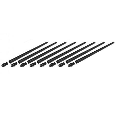 Set de 8 tiges de poussoirs longues chrome-molybdène (TQ)