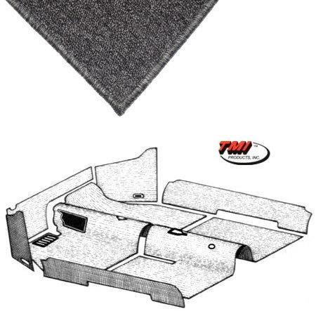 kit moquette intérieur grise cabriolet  69-70
