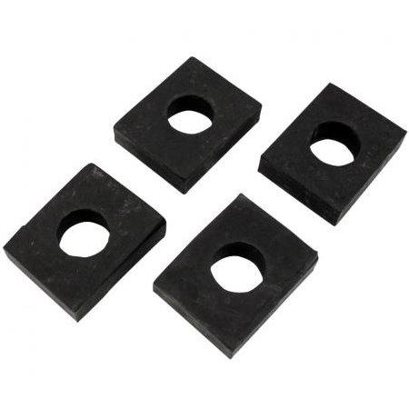Caoutchoucs entre carrosserie et châssis carré, 10 mm (4)