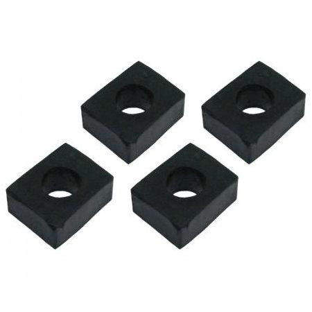 Caoutchoucs entre carrosserie et châssis carré, 17 mm (4)