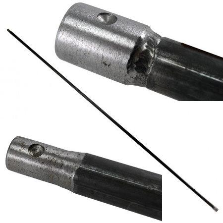 Tringlerie de commande de vitesse partie arrière Type 2 10/61-07/67