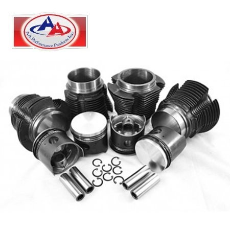 Kit piston et cylindre 1200cc 77mm/87mm carter - (4pcs) - AA performance