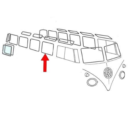 Joint de vitre latérale fixe. Qualité supérieure avec des angles préformés (1)