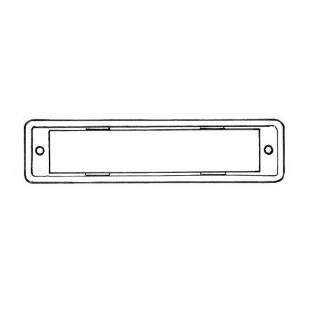 Joint éclairage de plaque, par pièce