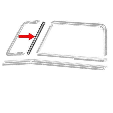 set de 2 joints de vitre de déflecteur gauche et droit T2 55-67