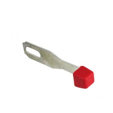 Manette de chauffage, rouge Type 2 08/67-07/72