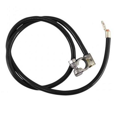 Câble positif de batterie, noir 920 mm Type 1 -07/66