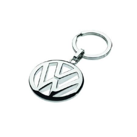 porte-clés chromé logo VW
