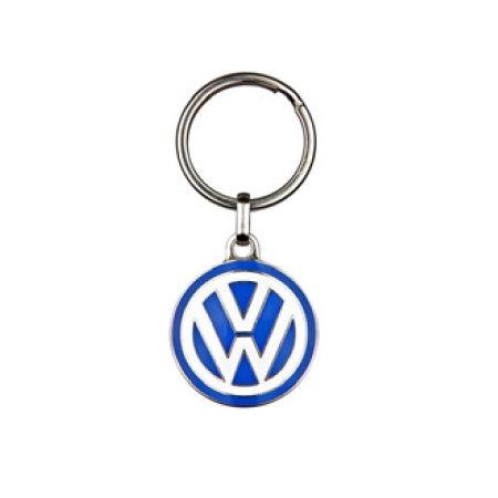 porte-clés émaillé logo VW diamètre 37mm