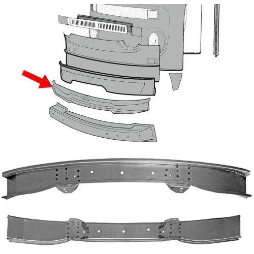 Bout de traverse avant intérieur avec support combi 68-72