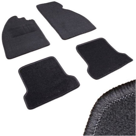 Kit tapis 4 pcs Type 1 / noir
