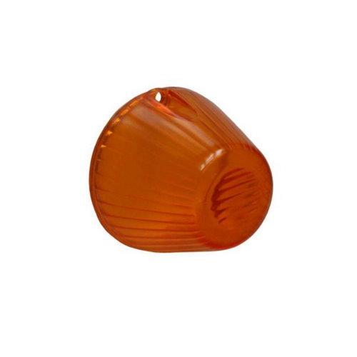 Verre de clignoteur gauche ou droite orange KG 08/63-07/69, Type 3 06/62-07/69
