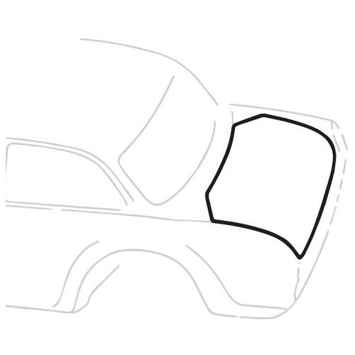 Joint coffre arrière Type3 notchback 60-74
