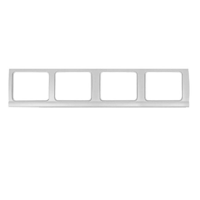 Tôle de réparation pour 4 fenêtres côté droit Combi  03/55-07/67
