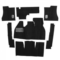 Kit moquette intérieur NOIRE 58-68