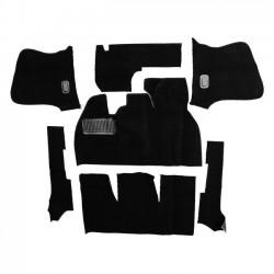 Kit moquette intérieur NOIRE cabriolet 58 -69