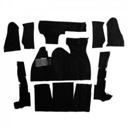 Kit moquette intérieur NOIRE cabriolet 70-72