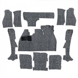 Kit moquette intérieur grise cabriolet 73-79