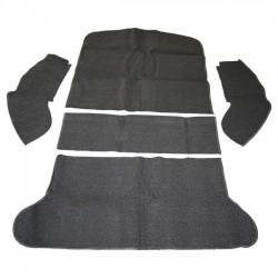 kit moquette de coffre arrière noire sans banquette  54-77