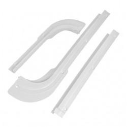 Guide câble supérieur toit coulissant,  plastique