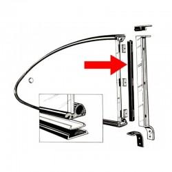joints (2) verticaux de vitre arrière de pop out 60-71
