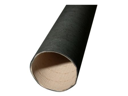 Tuyaux flexibles en carton noir, entre carter de turbine et échangeur
