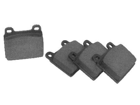 Plaquettes de frein Type2 73-86 / TRW (77 x 70 x 19mm)