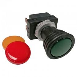 Interrupteur on-off Hella vert, rouge ou jaune