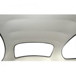 ciel de toit blanc 73- en vinyl perforé modéle d'origine