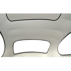 ciel de toit blanc 68-72 toit ouvrant en vinyl perforé (TMI#44) modéle d'orgine