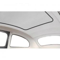 ciel de toit 63 découvrable en vinyl blanc perforé modéle d'origine