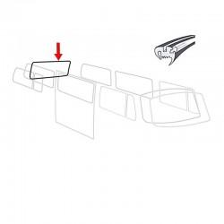 Joint de vitre arrière deluxe avec angles préformés (Qualité allemande)