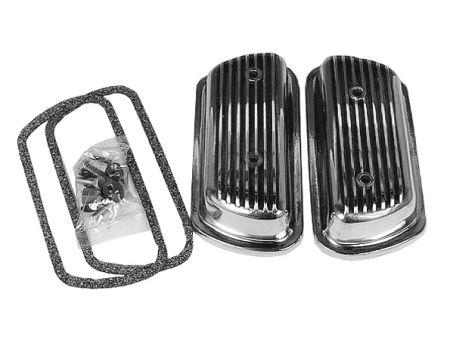 Caches soupapes Type1 aluminium avec vis (paire)