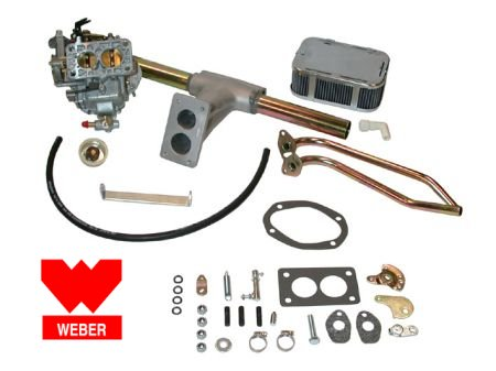 kit carburateur WEBER 32-36 progressif T1