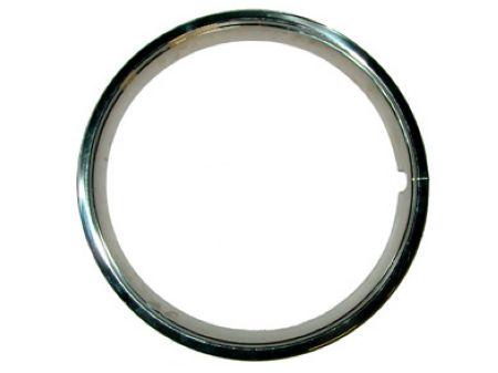 """Cercles de roue (chromés) Inox poli (4pièces) 15"""""""