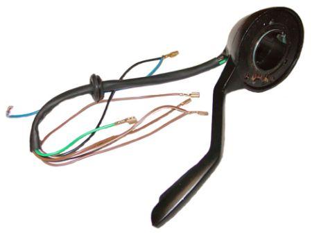 Commutateur clignotants, noir T1 08/65-07/67
