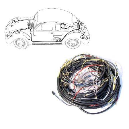 Faisceau électrique Cox et Cabrio 1970-71 (sauf 1302)
